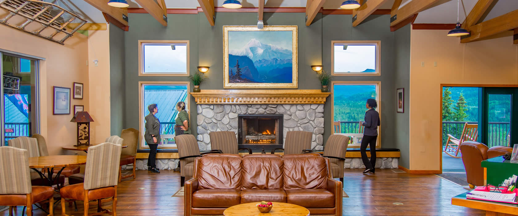 denali bluffs hotel in alaska